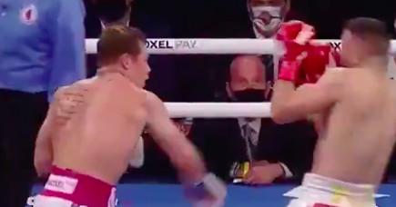Canelo Alvarez vs. Avni Yildirim full fight video highlights