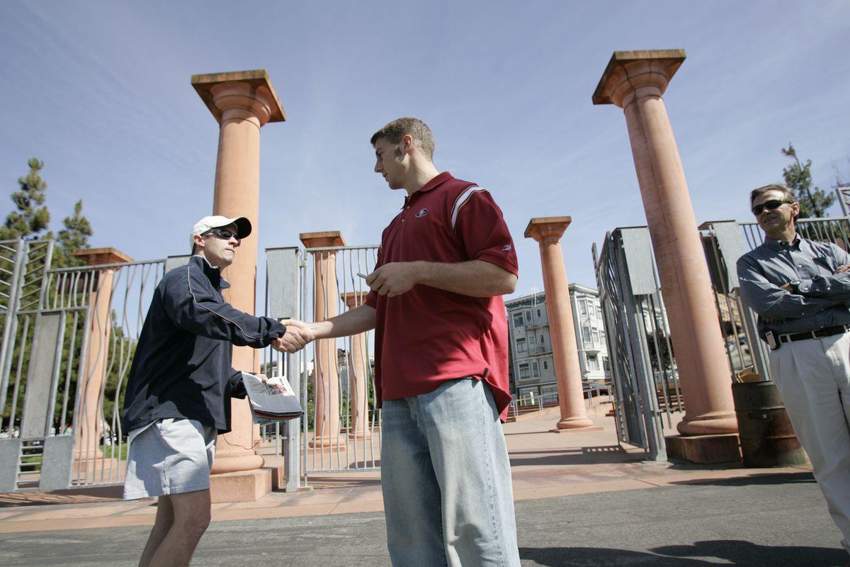 Alex Smith meets Gavin Newsom