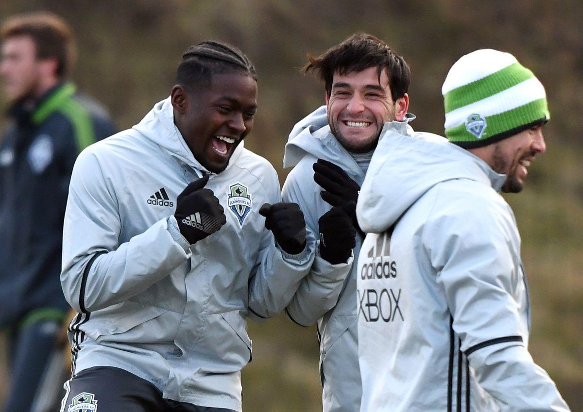 MLS: Seattle Sounders Training
