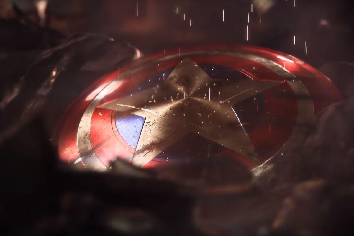 Avengers game - Captain America's shield