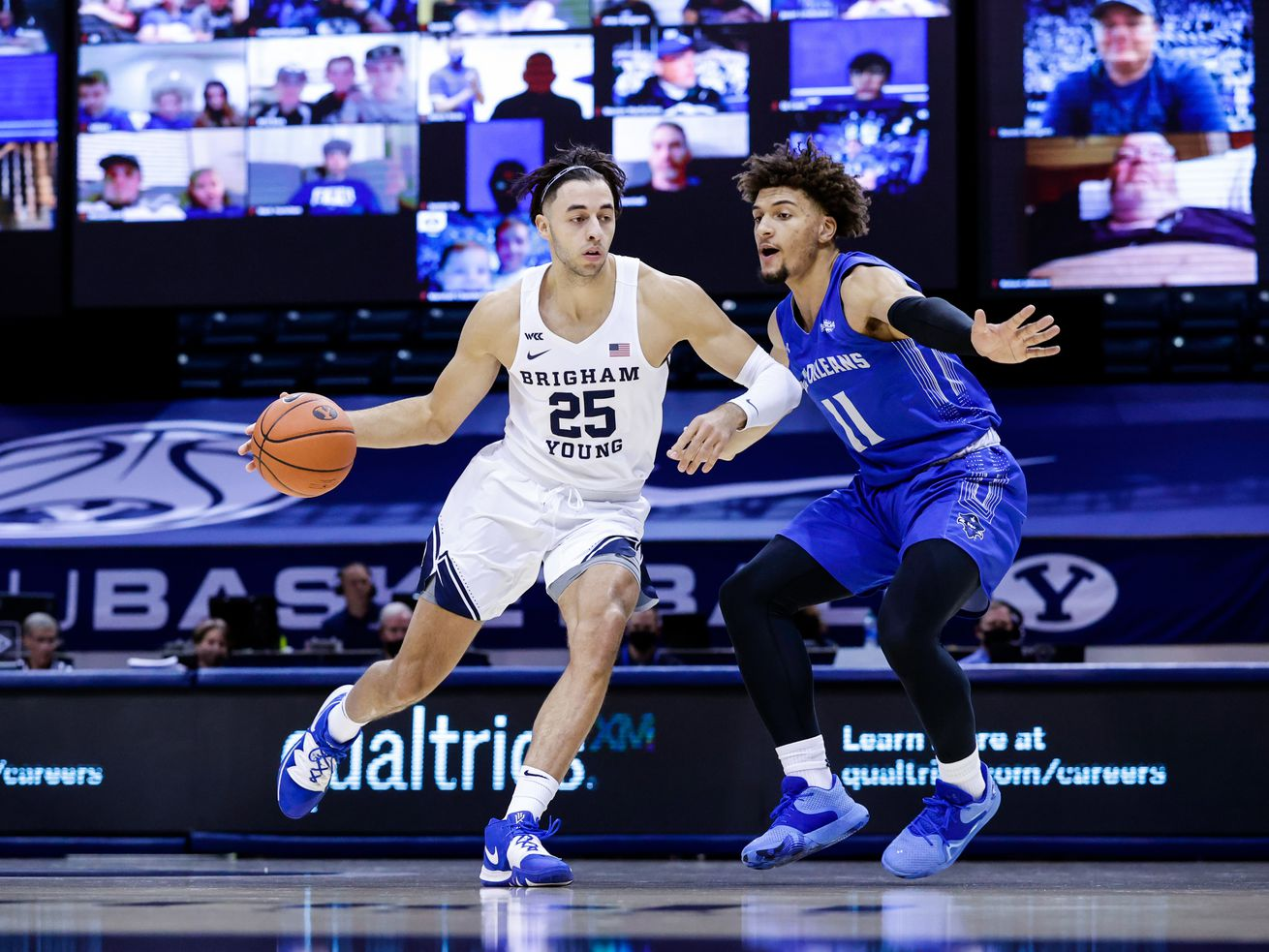 BYU junior forward Gavin Baxter out for the season with ACL injury