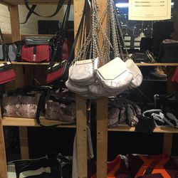 There are still a lot of handbags and SLGs ($125—$275)