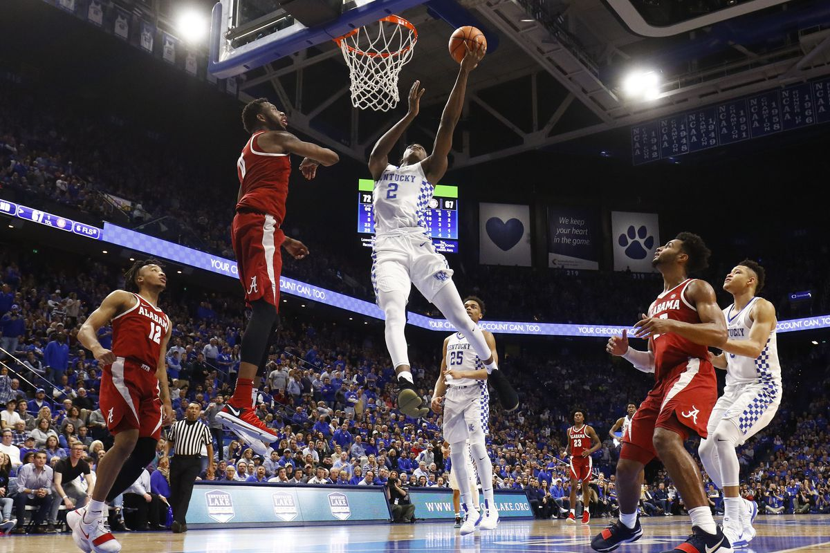 Kentucky Wildcats Basketball 2018 Sec Matchups Revealed: College Basketball Bracketology: Kentucky Wildcats Stand