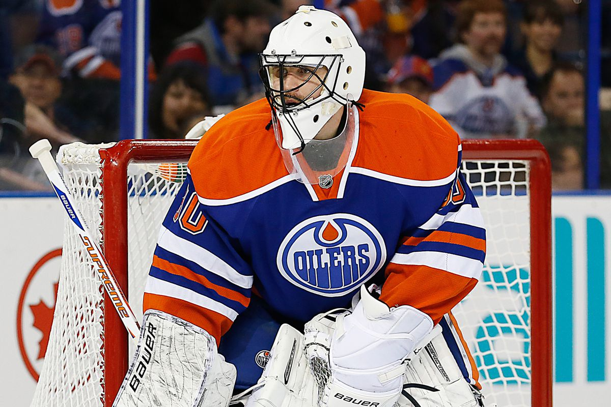 Ilya Bryzgalov is one of five goalies used by the Oilers in 2013-14.