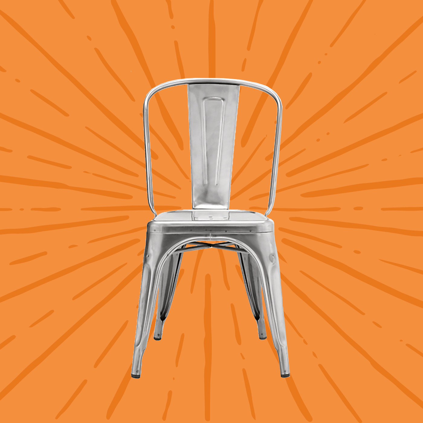 Fabulous This Metal Chair Is In Every Cafe Bistro And Restaurant Vox Download Free Architecture Designs Scobabritishbridgeorg