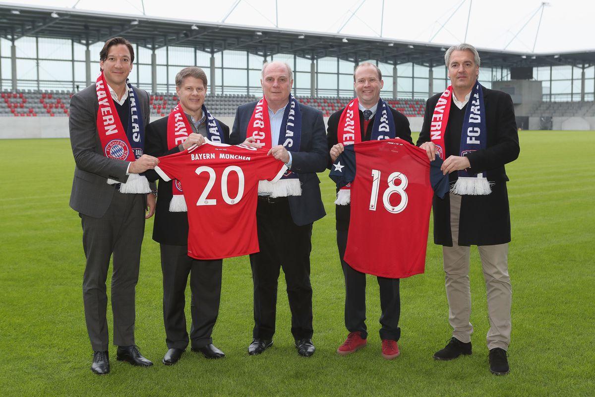 db9582b8003 Why the partnership with FC Dallas helps Bayern Munich - Bavarian ...
