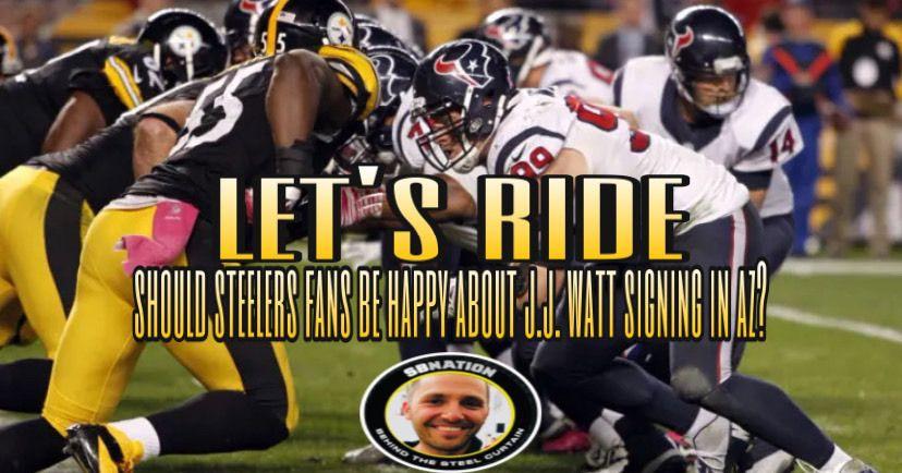 Podcast: Should Steelers fans be happy J.J. Watt signed with Arizona?