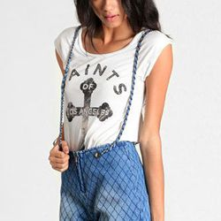 """<b>Threadsence</b> social climber quilted denim overalls, $62 at <a href=""""http://www.threadsence.com/social-climber-quilted-denim-overalls-p-7364.html"""">Threadsence</a>"""