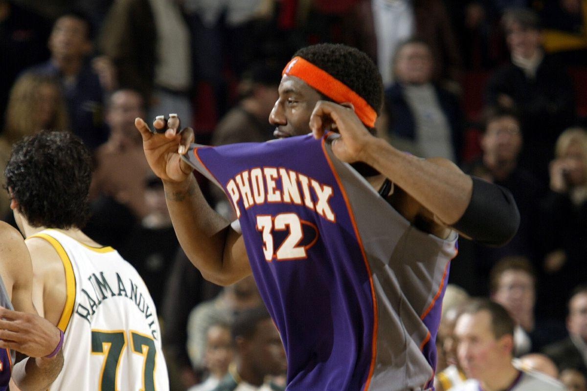Phoenix Suns v Seattle Sonics