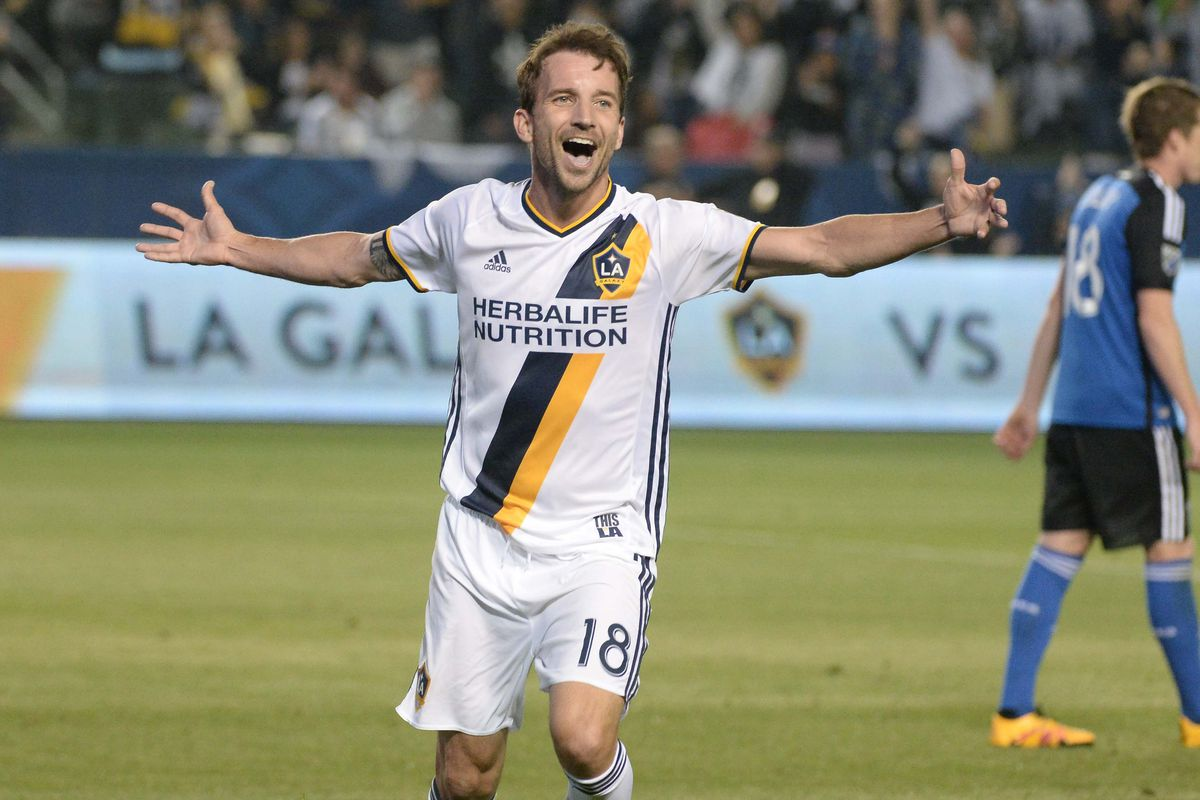 Mike Magee had yet another assist in LA's 3-1 triumph over San Jose on Saturday night