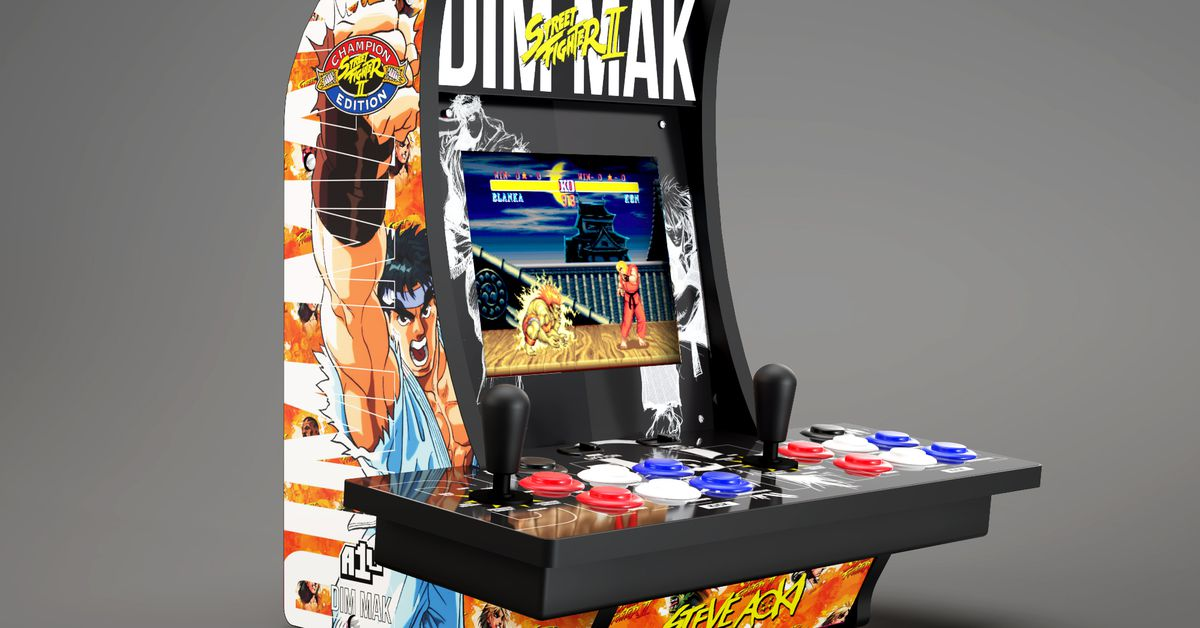 Steve Aoki teamed up with Capcom on a Street Fighter arcade cabinet and clothing line - The Verge