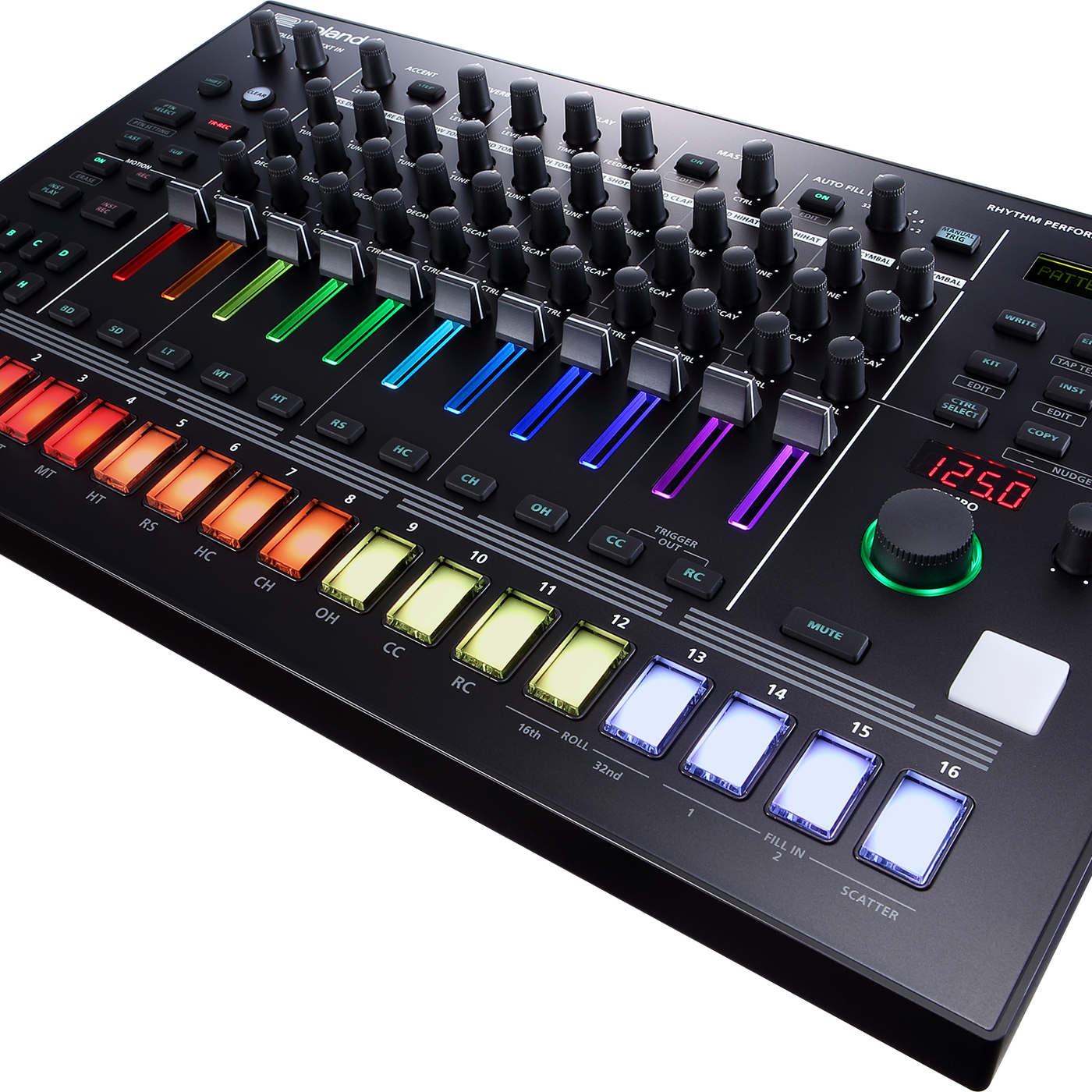 Roland's new rhythm performer is also five classic drum machines in