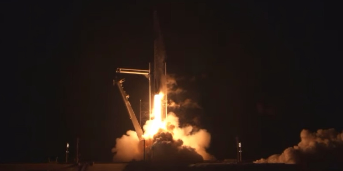 Image of article 'SpaceX successfully launches second crew to space on first operational mission'