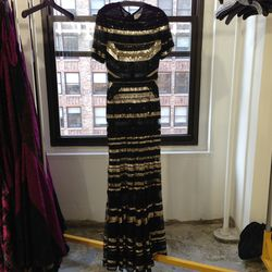 Embroidered gown, $4,875 (originally $19,500)