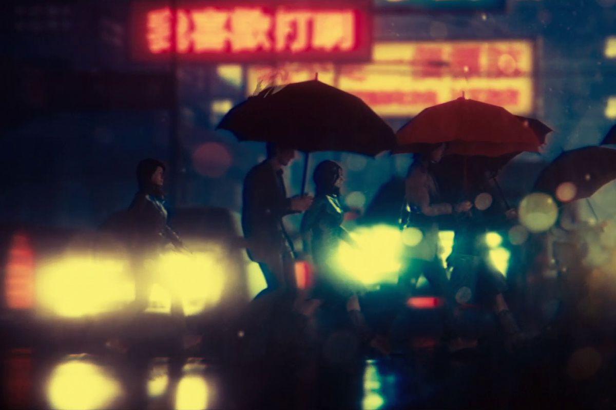 The Hong Kong Massacre - walking through the rain
