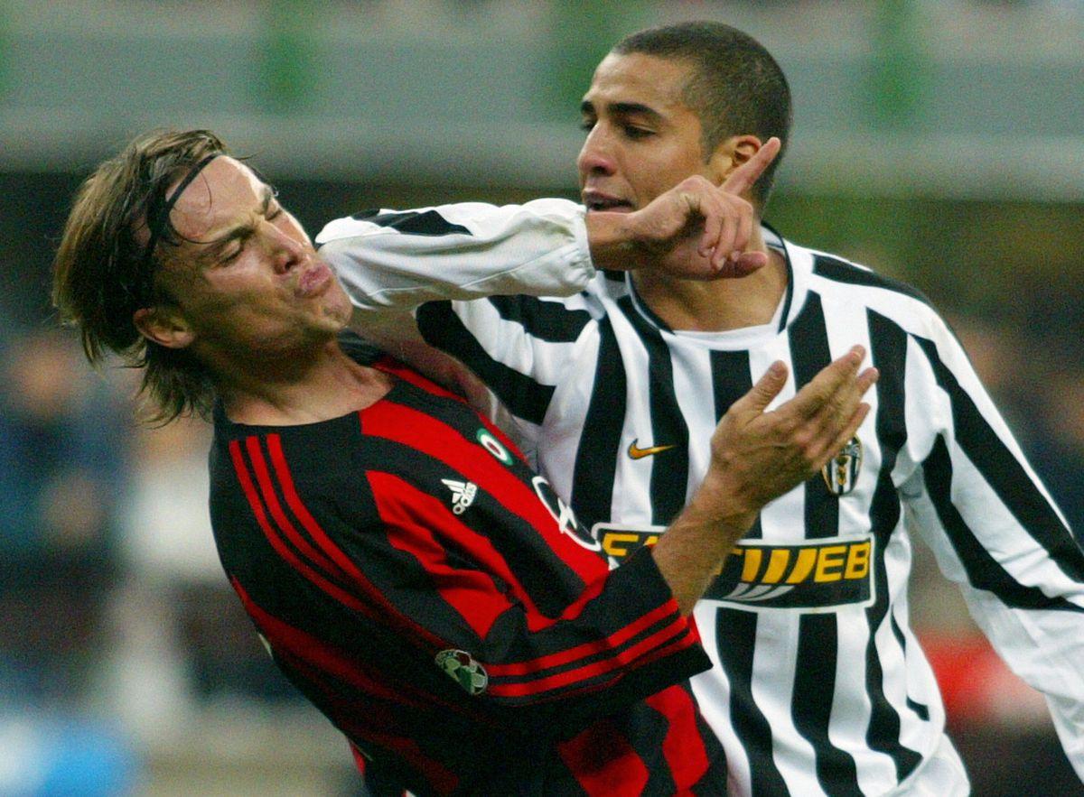 Juventus French forward David Trezeguet