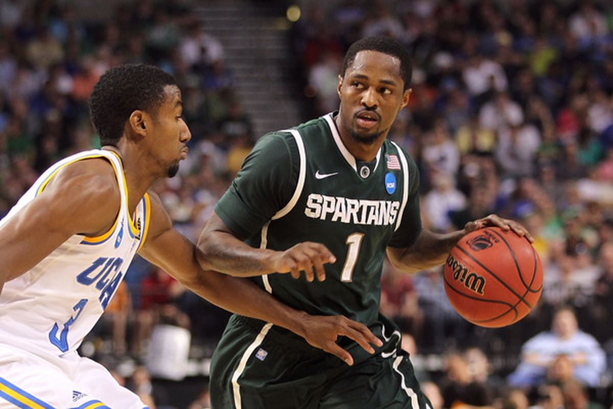 Kalin Lucas will get a great chance to improve his game with Olympiakos in Greece.  (Photo by Mike Ehrmann/Getty Images)