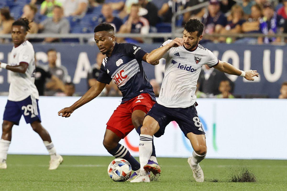 SOCCER: AUG 18 MLS - DC United at New England Revolution