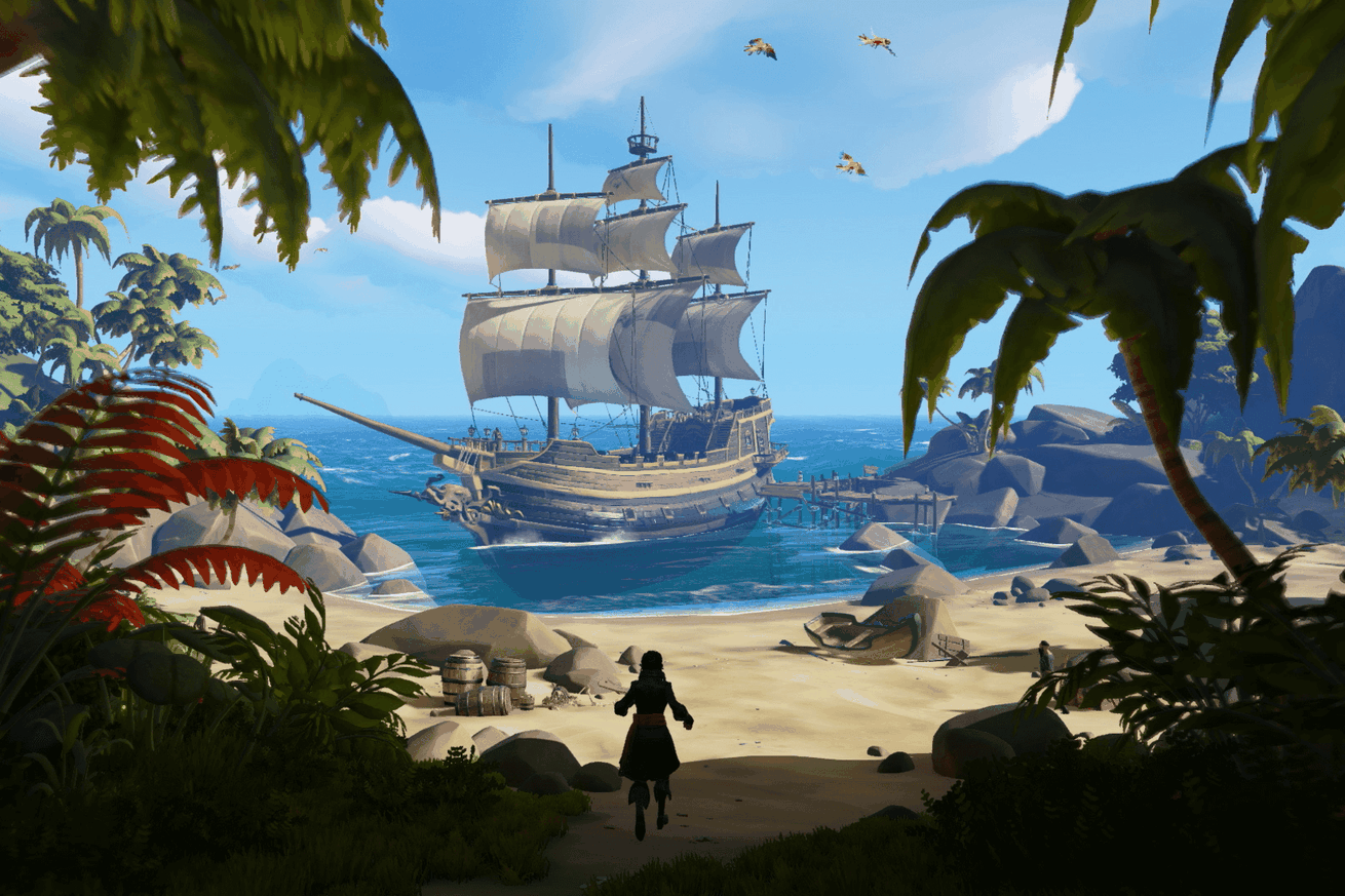 sea of thieves is huge fun and just what the xbox one needs