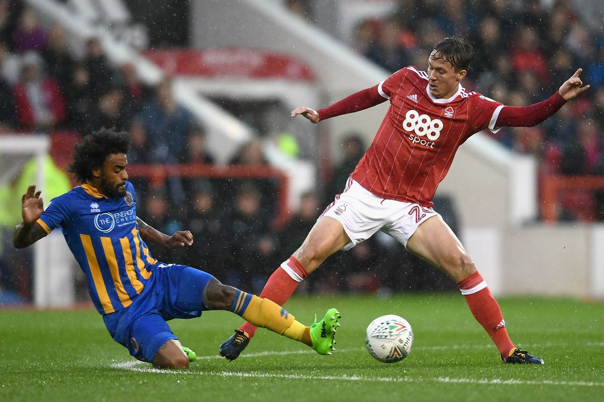 Nottingham Forest v Shrewsbury Town - Carabao Cup First Round
