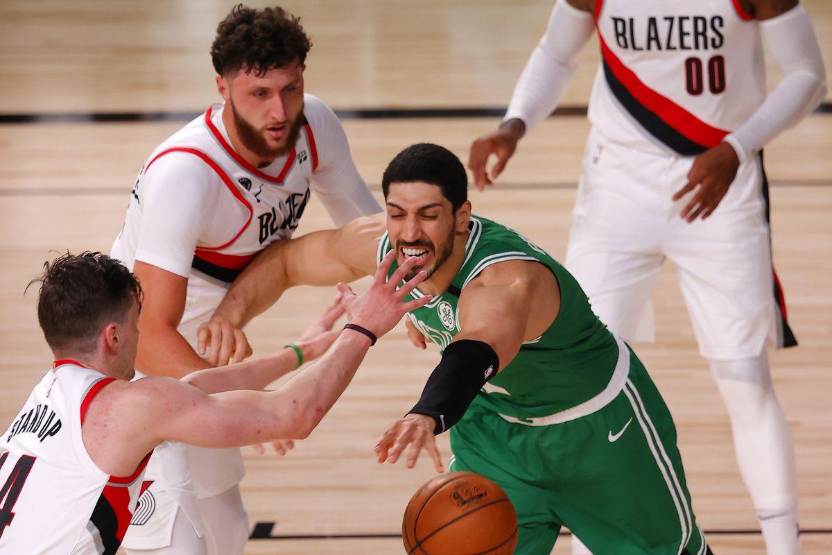 NBA: Portland Trail Blazers at Boston Celtics