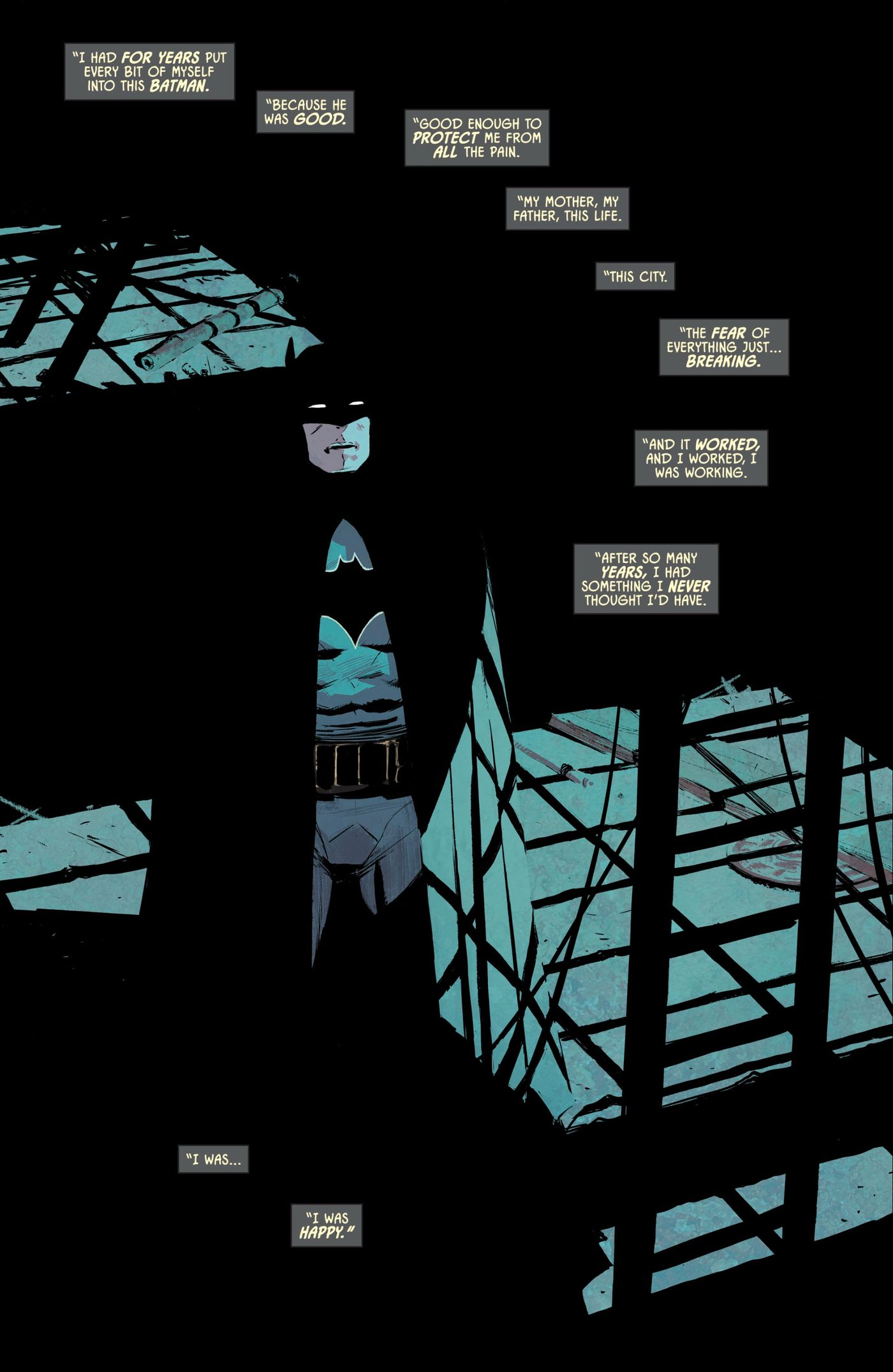 In Batman #53, Bruce Wayne saves Mr  Freeze from The Dark