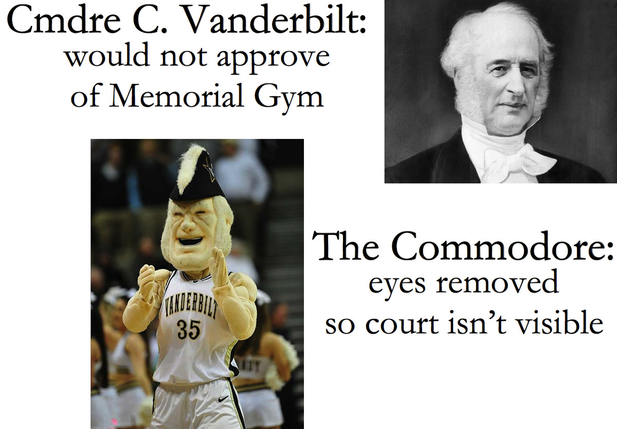 Commodores Who Hate Vandy Court