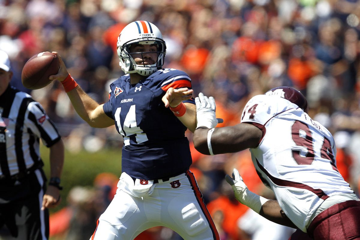 Barrett Trotter Leaves Auburn Football Clearing Up 2017 Quarterback Depth Chart