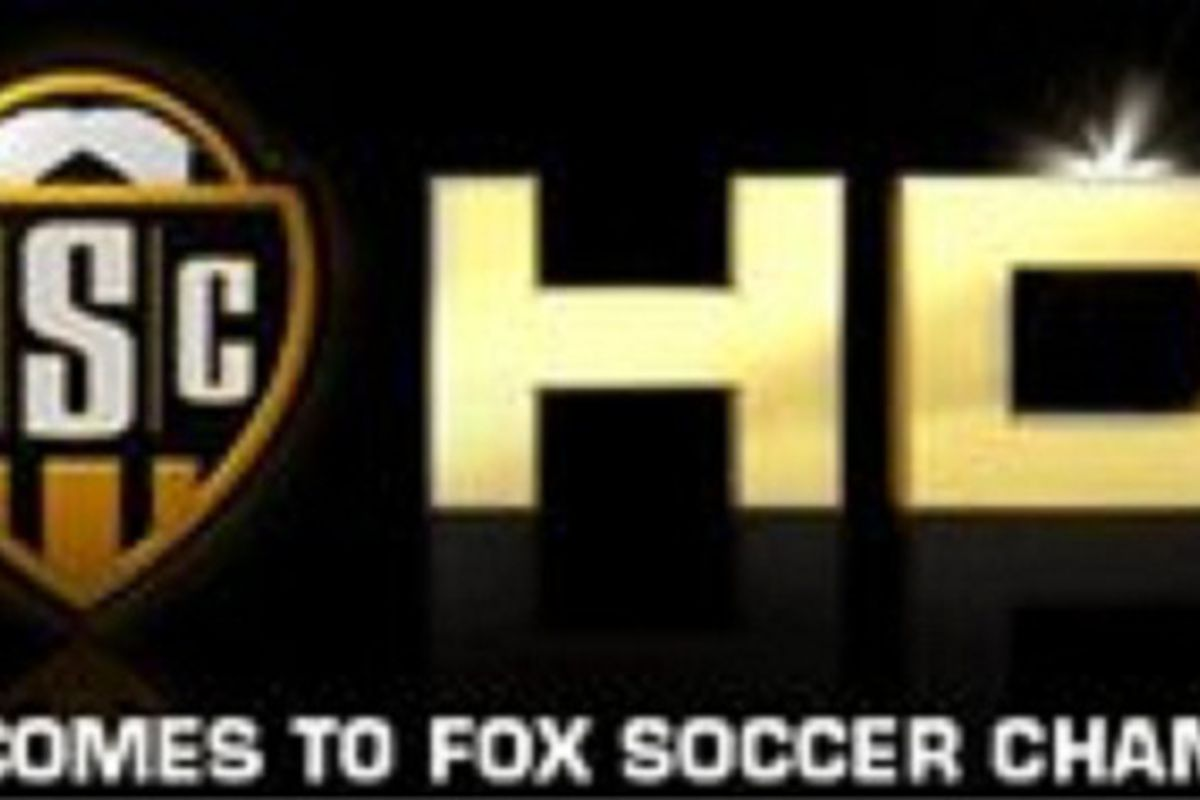 Fox Soccer Channel will now broadcast in HD on Comcast.