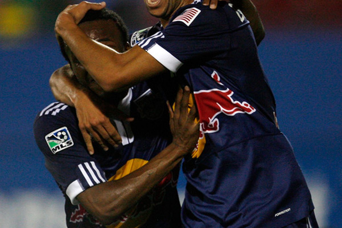 I think we'll all miss his song.  Also, neither of these guys, both Backe favorites, are Red Bulls any more.