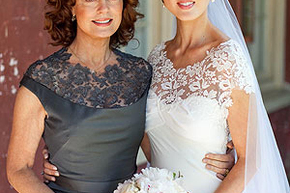 Eva Amurri and Susan Sarandon Coordinate Bride and Mother of the ...