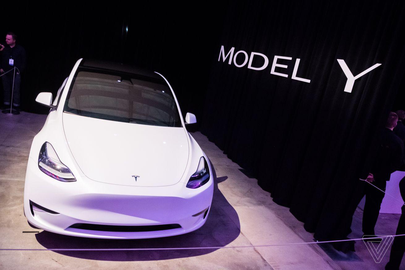 My brief but familiar ride in Tesla's brand new Model Y