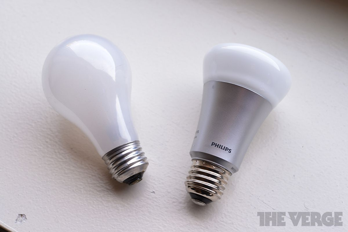 Smart Bulbs How Many Features Does It Take To Screw In An Led Light Brightness Control For Small Lamps Circuit Philips Bulb Vs Incandescent Stock 1020