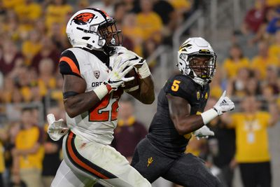 NCAA Football: Oregon State at Arizona State