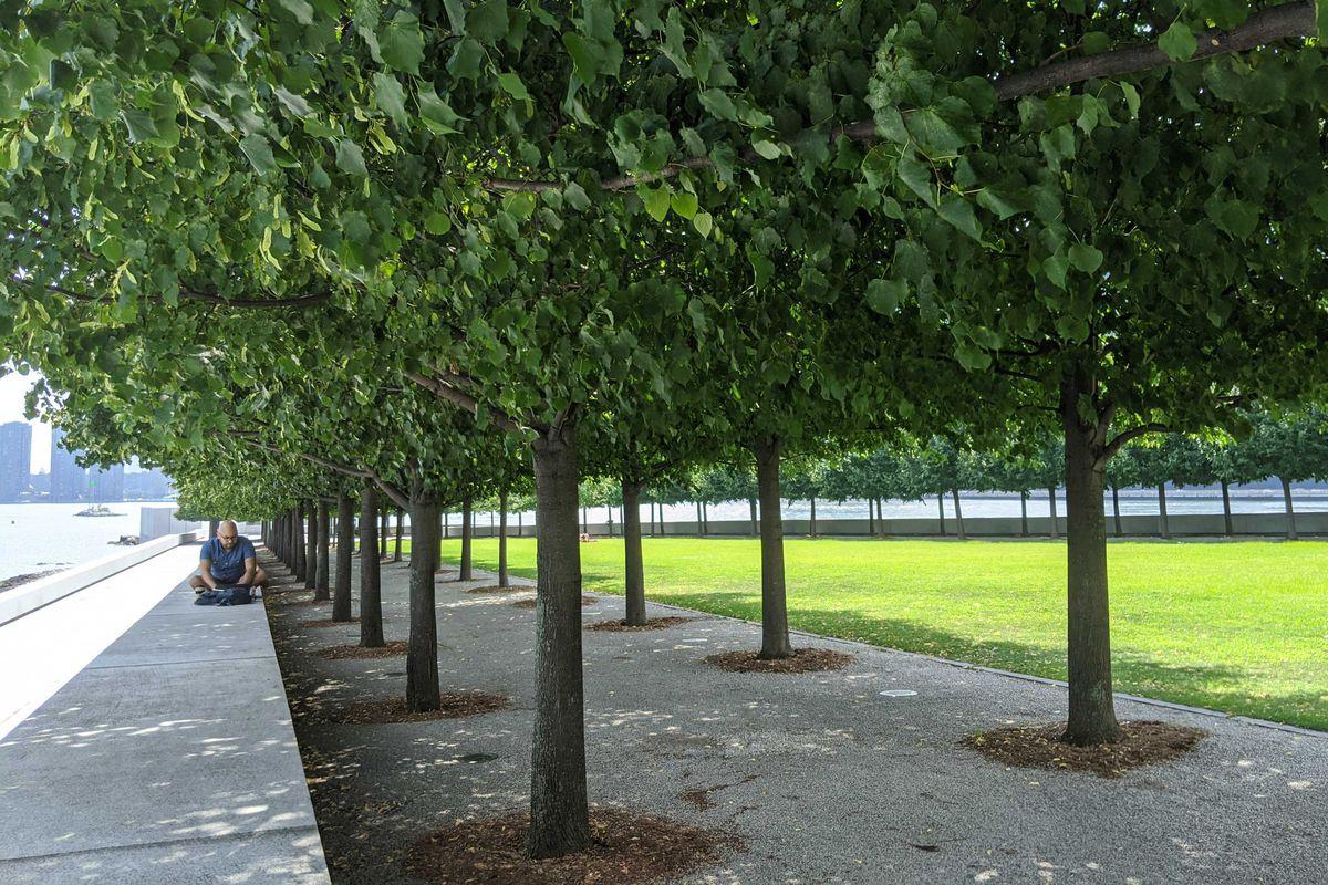 Four Freedoms Park on Roosevelt Island.