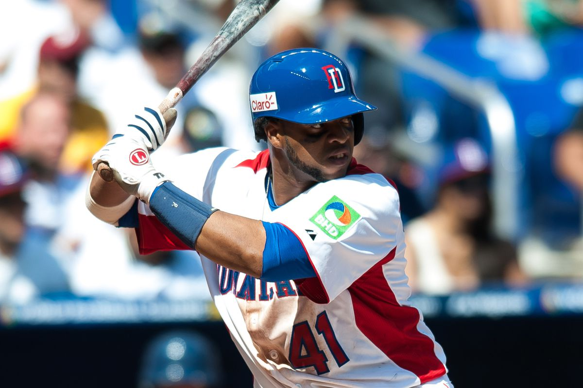 Carlos Santana led the DR to the WBC Championship. Maybe he can do the same for your fantasy team.