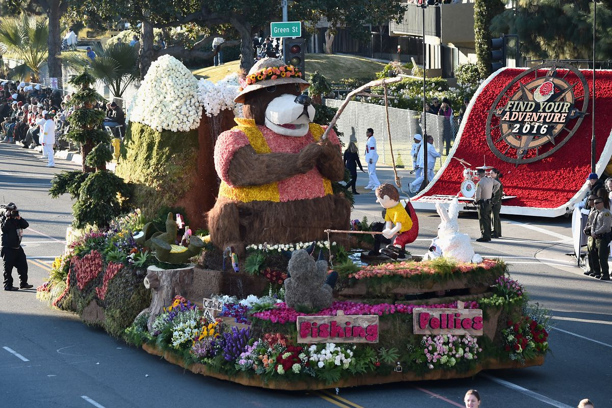 rose parade 2017 map and route: how to catch all of monday's action