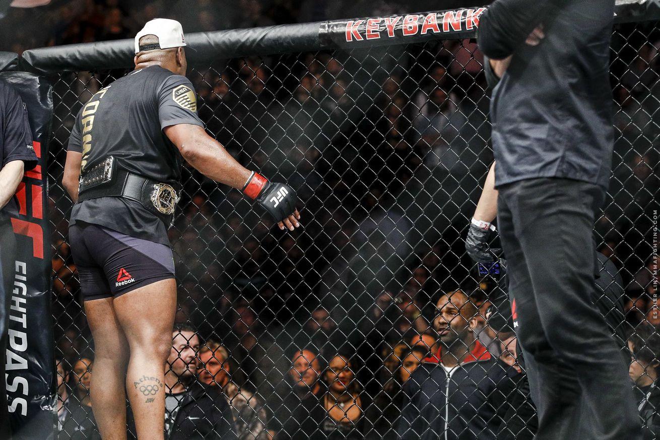 Jimi Manuwa: Daniel Cormier win is my 'best chance' at getting UFC title shot