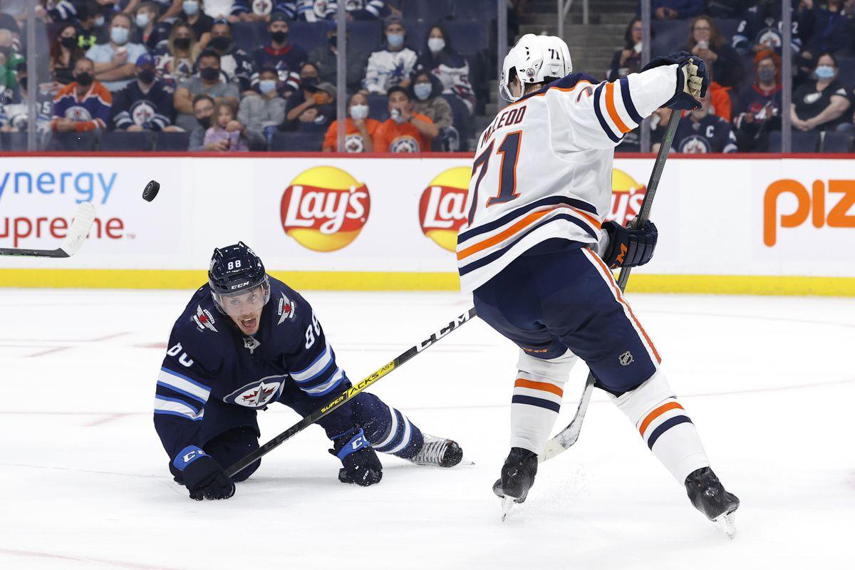 NHL: Preseason-Edmonton Oilers at Winnipeg Jets
