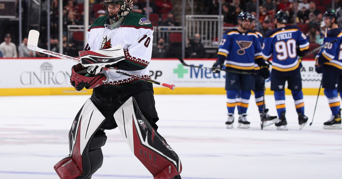 Coyotes Game 3 Recap: Coyotes drop home opener to the Blues