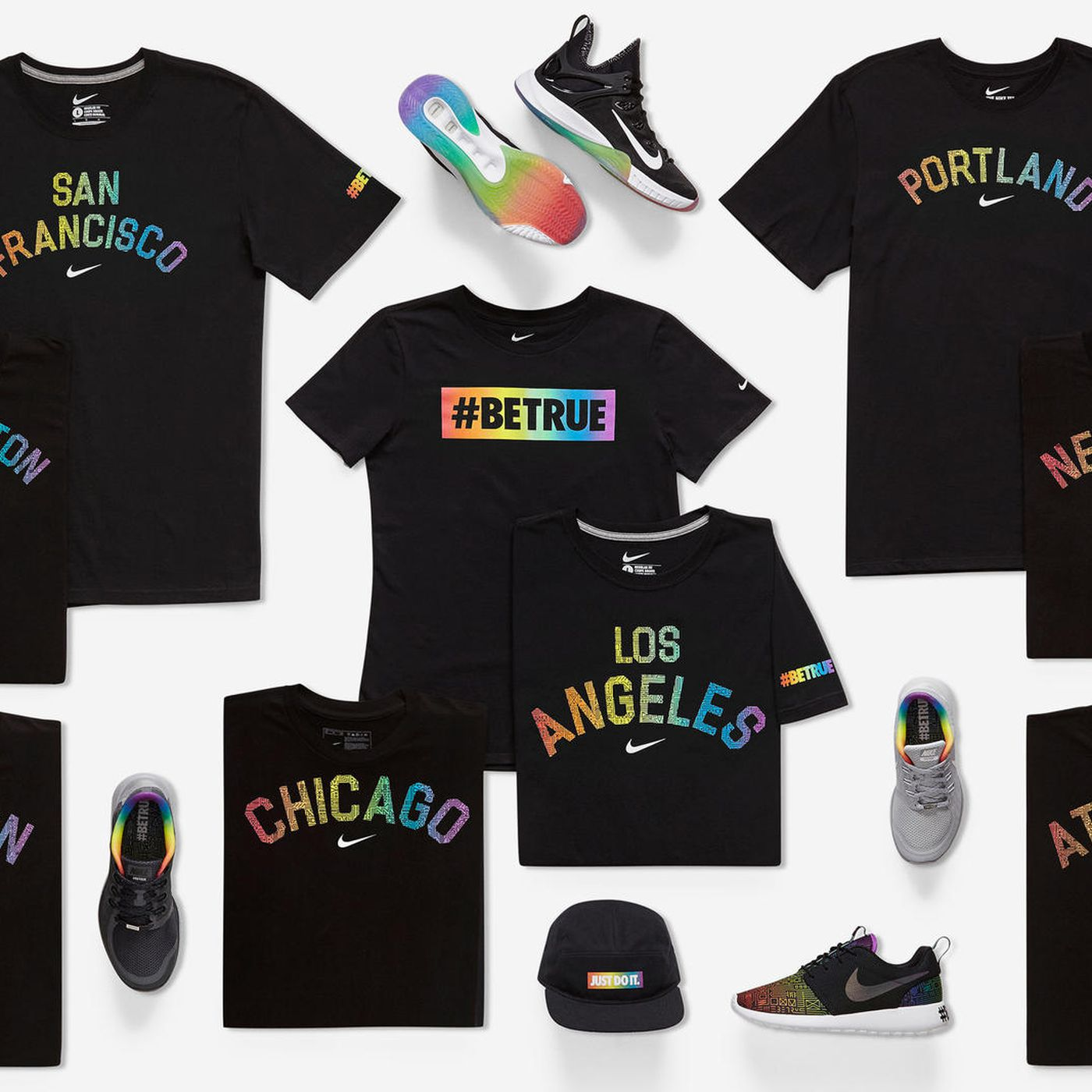 85eea6417e38cd Nike releases  BeTrue pride shoes - Outsports