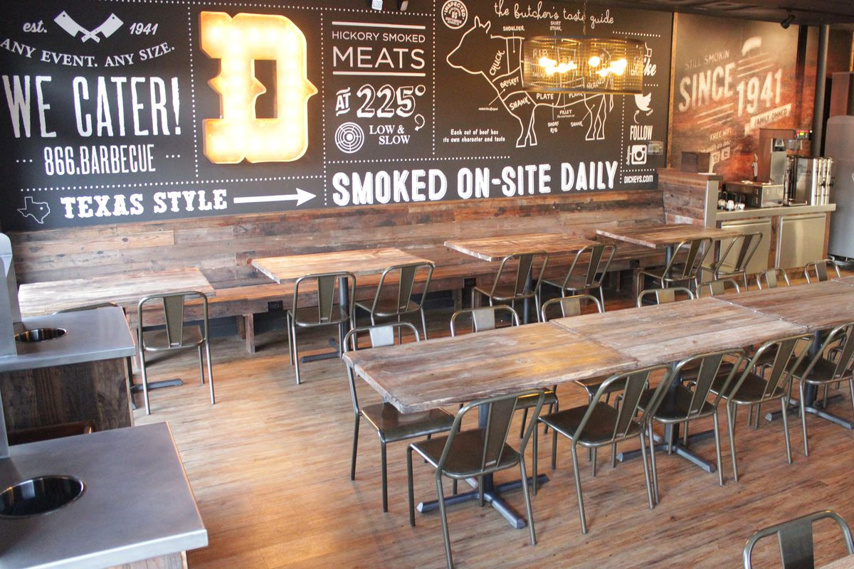 Dickey S Barbecue Gets A Hipster Makeover Eater Dallas