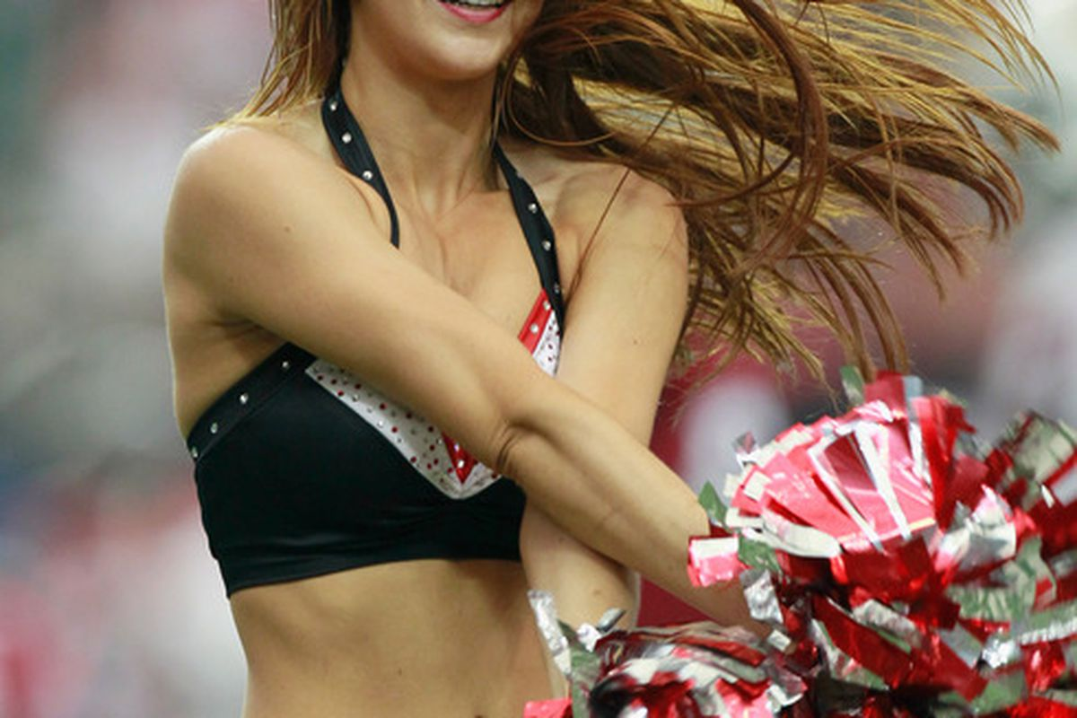 The best part of Sunday's game?  (Photo by Kevin C. Cox/Getty Images)