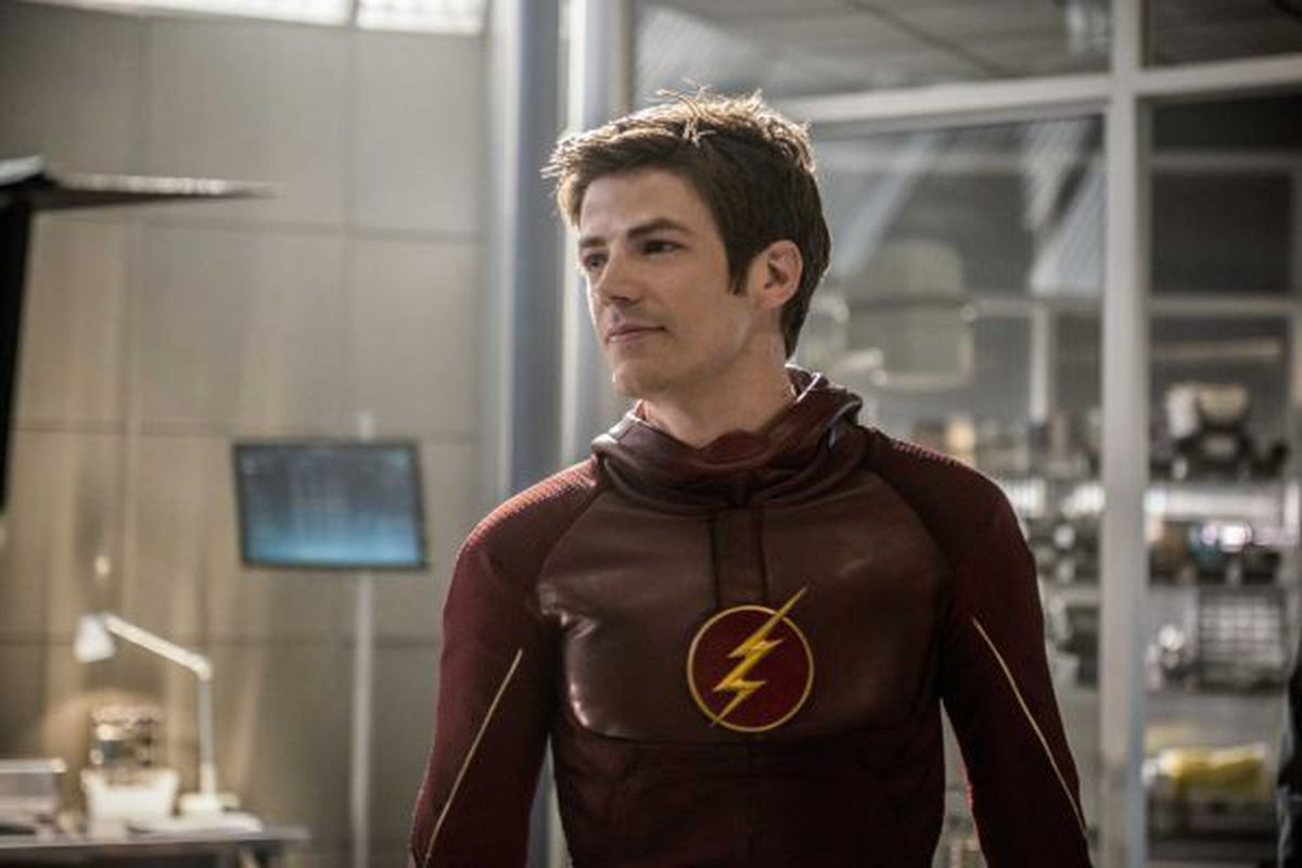 """Grant Gustin stars as """"The Flash,"""" the world's fastest man. The CW series' second season is now on DVD."""