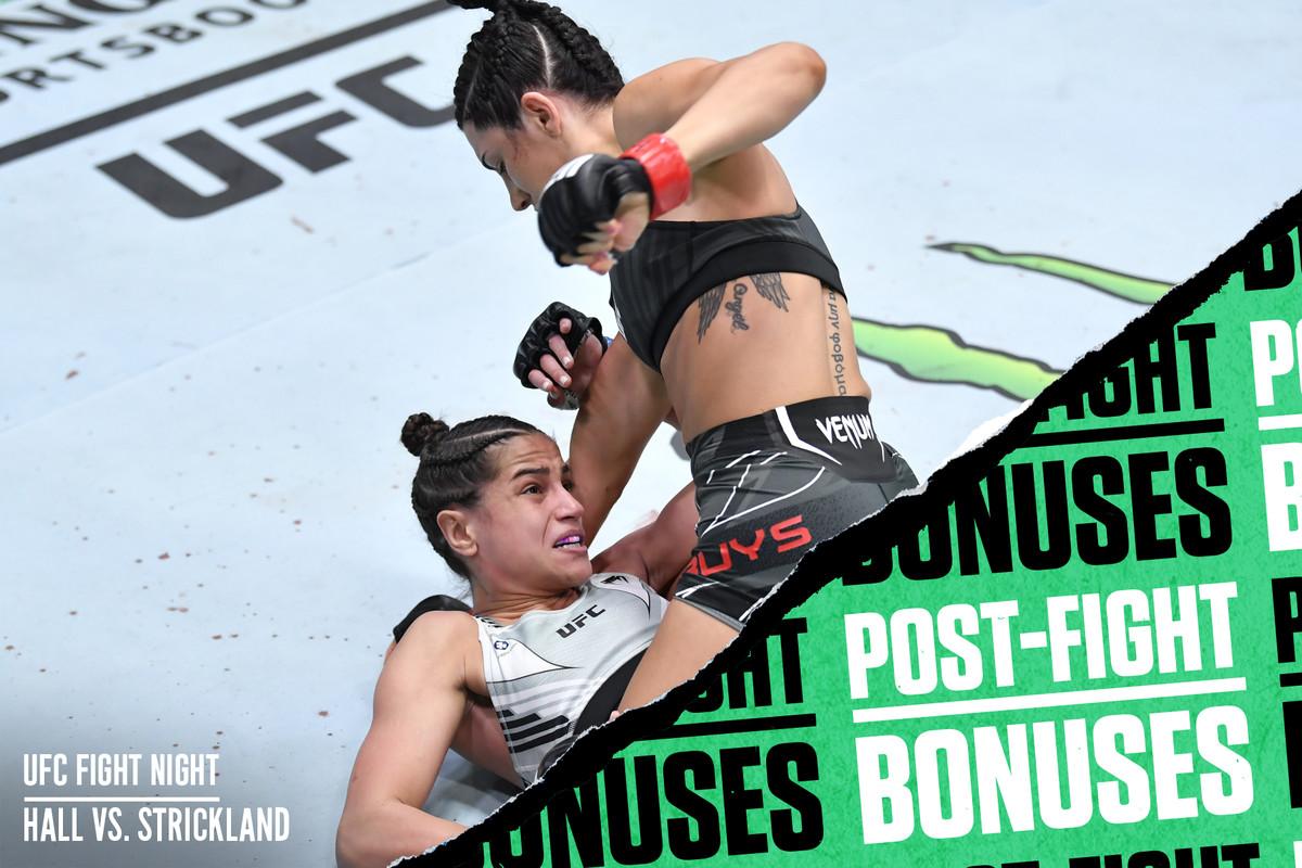 Cheyenne Buys bounces back with a TKO win over Gloria de Paula.
