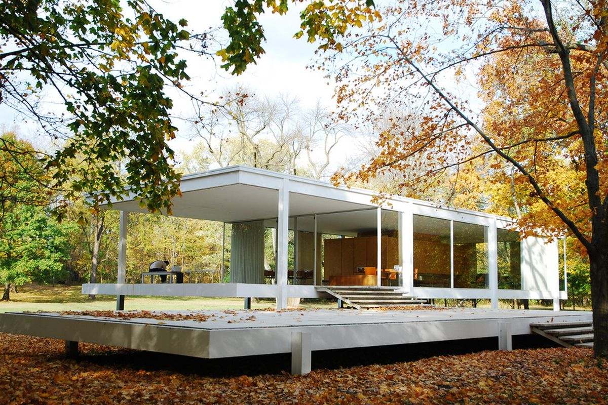 mies van der rohe and the farnsworth house will get the hollywood treatment curbed. Black Bedroom Furniture Sets. Home Design Ideas