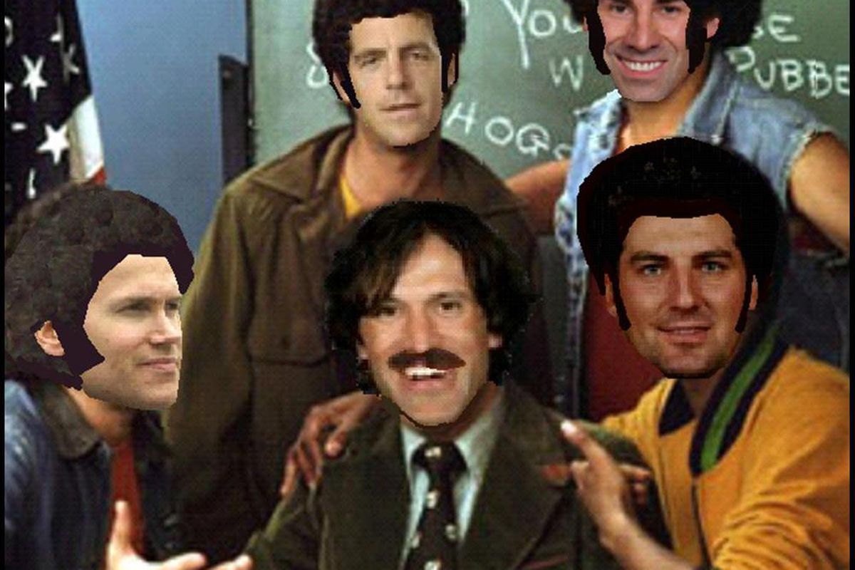 """Remember the good old days of """"Welcome Back Scotter""""?  Well the old cast is now graduated; tune in for all-new episodes this fall as Mr. Scotter teaches a whole new freshman class."""