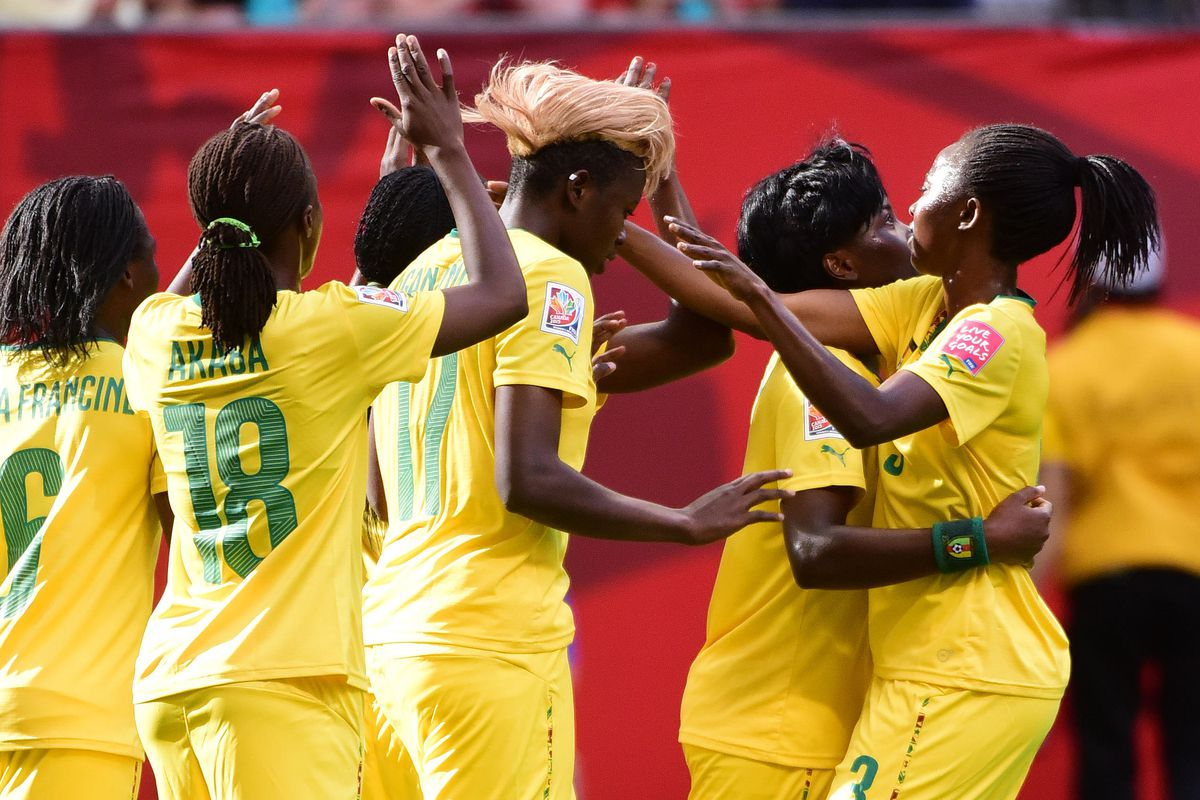 Cameroon celebrates a wonderful breakthrough onto the World's stage
