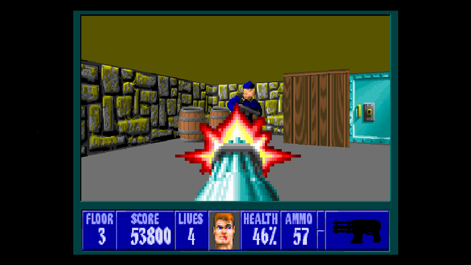 Wolfenstein 3d returns to psn xbla for 5 polygon for Wolfenstein 3d