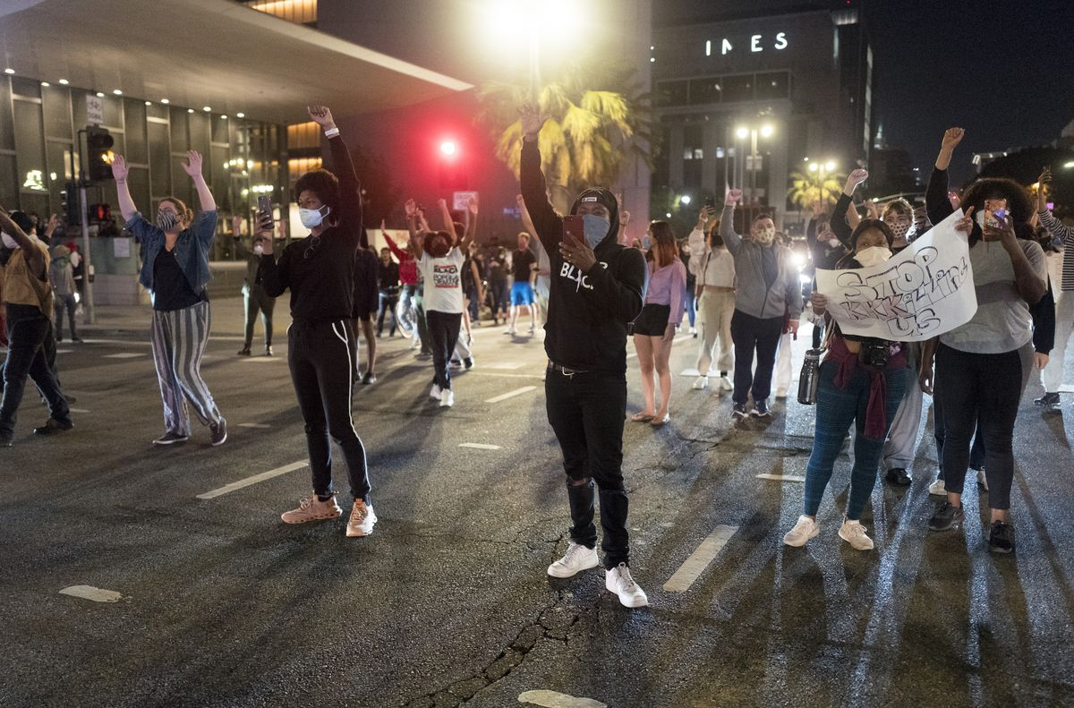 Riots In 2020 Photos From Minnesota Los Angeles Memphis